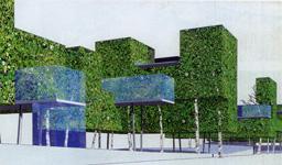 Transit city for Algeco habitable